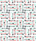 Snuggle Flannel Fabric -Breeze Arrows