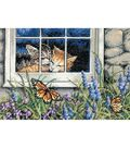 Dimensions Gold Collection Counted Cross Stitch Feline Love Petite