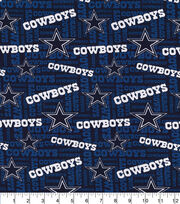 Dallas Cowboys Cotton Fabric -Knit, , hi-res