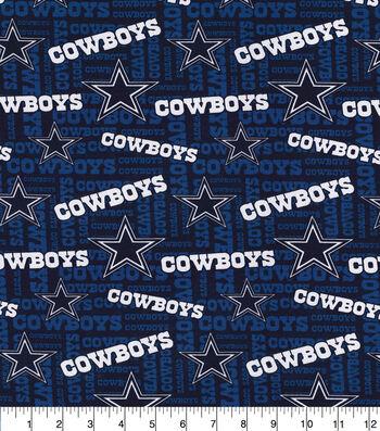 Dallas Cowboys Cotton Fabric -Knit