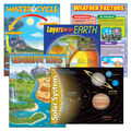 Earth Science Learning Charts Combo Pack 5 Per Pack 2 Packs