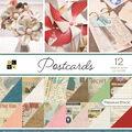 Park Lane 12\u0027\u0027x12\u0027\u0027 36 Pack Premium Printed Cardstock Stack-Postcards