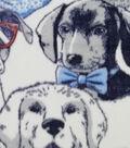 Anti-Pill Plush Fleece Fabric 58\u0022-Cool Dogs