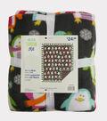 No Sew Fleece Throw 48\u0022-Bright Penguins