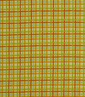 Robert Allen @ Home Outdoor Fabric 54\u0022-Baja Plaid Lemon