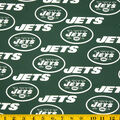 New York Jets Cotton Fabric -Green