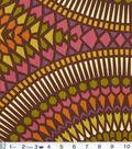 Home Decor Print Fabric- Modern Essentials Badabing Mocha
