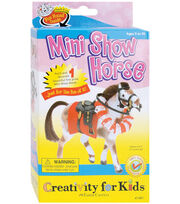 Creativity For Kids Mini Show Horse, , hi-res
