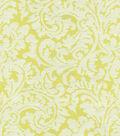Waverly® Multi-Purpose Decor Fabric 55\u0022-Namaste Scroll/Citrine