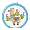 Bucilla My 1st Stitch Mini Counted Cross Stitch Kit 3\u0022-Llama