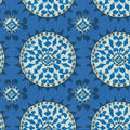 Dena Design Home Decor 8\u0022x8\u0022 Swatch-Johara Sapphire