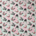 Super Snuggle Flannel Fabric-Pups With Glasses Tossed
