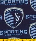 Sporting Kansas City Fleece Fabric 58\u0022-Logo