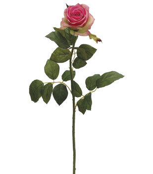 """Bloom Room 27.5"""" Confetti Rose Stem-Two Tone Pink"""