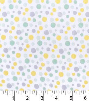 Nursery Flannel Fabric -Hayden Dot