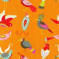 For The Birds/flamingo Swatch