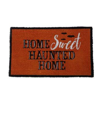 Maker's Halloween Coir Mat-Home Sweet Haunted Home