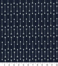 Quilter\u0027s Showcase Cotton Fabric 44\u0027\u0027-Arrows on Navy