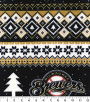 Milwaukee Brewers Fleece Fabric-Winter, , hi-res