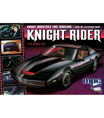 MPC Knight Rider 1:25 Scale Model Car Kit