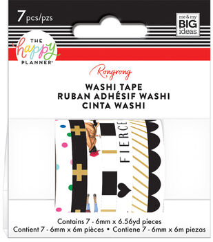 The Happy Planner x Rongrong Washi Tape-Bright