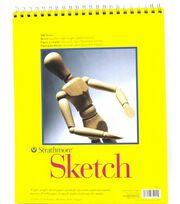 """Strathmore Sketch Pad 11""""X14"""" Pad, , hi-res"""