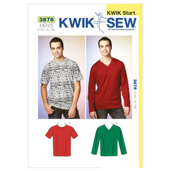 Kwik Sew Mens Top-K3878