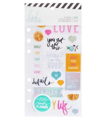 Heidi Swapp Fresh Start Cardstock Stickers-Play