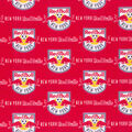 New York Red Bulls Cotton Fabric -Logo
