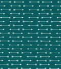 Quilter\u0027s Showcase Cotton Fabric 44\u0022-Deep Lake Linear Arrows