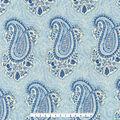 Home Essentials Decor Fabric-Kantha Paisley Indigo
