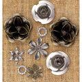 Prima Marketing Mechanicals Metal Vintage Trinkets Roses