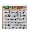 Echo Park Paper Company 39 pk Designer Stamps-Avery Lowercase