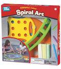 Play Group Sidewalk Chalk Spiral Art
