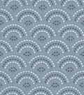 Snuggle Flannel Fabric 42\u0022-Spa Dotted Scales