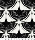 Home Decor 8\u0022x8\u0022 Fabric Swatch-Genevieve Gorder Flock Onyx