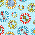 Dr. Seuss Flannel Fabric-Tossed Character