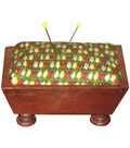 Sudberry House Mahogany Vintage Pincushion