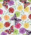 Valori Wells Cotton Fabric-The Garden Celebration Voile