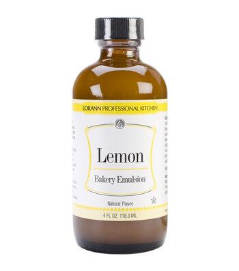 Bakery Emulsions Natural & Artificial Flavor 4oz-Lemon