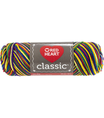Red Heart Classic Yarn-Mexicana Multipack of 12