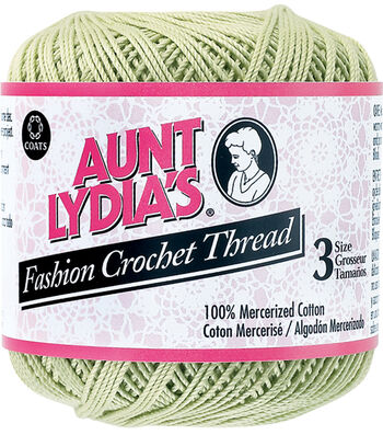 Coats Aunt Lydia's Size 3 Fashion Crochet Thread