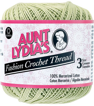 Coats Aunt Lydia's Size 3 Fashion Crochet Thread