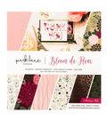 Park Lane Paperie 34 pk Printed Cardstock Collection Pad-Bloom De Fleur