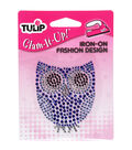Tulip Glam-It-Up! Iron-On Designs-Small Owl