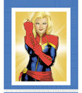 Marvel No Sew Fleece Throw-Captain Marvel