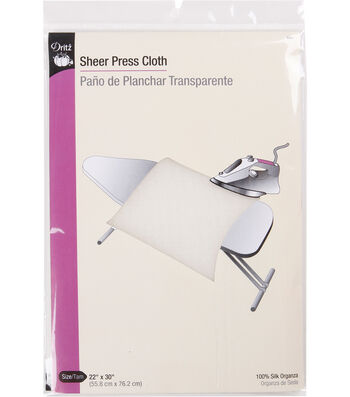 Sheer Press Cloth