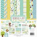 Echo Park Paper Company Bundle Of Joy Baby Boy Scrapbooking Kit