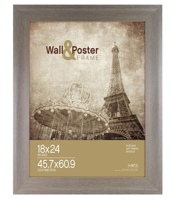 MCS Industries Wall & Poster Frame 18''x24''-Peyton Gray