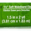 Dritz 1 1/2\u0022 Soft Waistband Elastic Orange